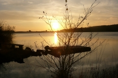 CARRIGEENCOR-LAKE-SUNSET